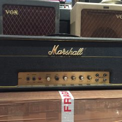 Vintage 1967 Marshall JMP JTM 50 Plexi Amplifier