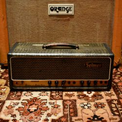 Vintage 1964 Selmer Treble N Bass 50 Crocodile Valve Amplifier