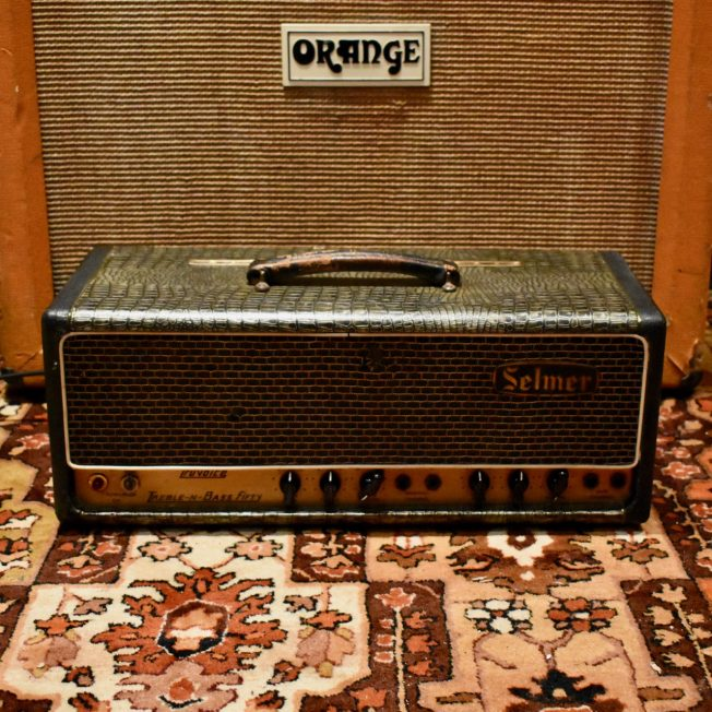 Vintage 1964 Selmer Treble n Bass 50 Crocodile Valve Amplifier