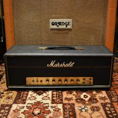 Vintage 1969 Marshall JMP 50w Valve Head Amplifier SERVICED