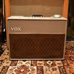 Vintage 1962 Vox AC10 Twin JMI Fawn Beige Amp