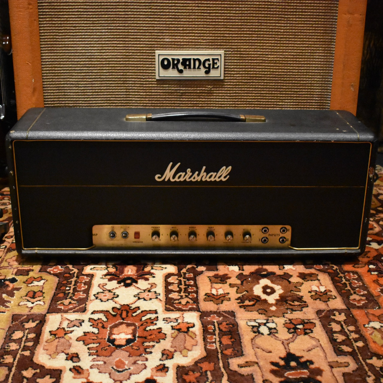 Vintage 1973 Marshall JMP 50w Lead Amplifier SERVICED