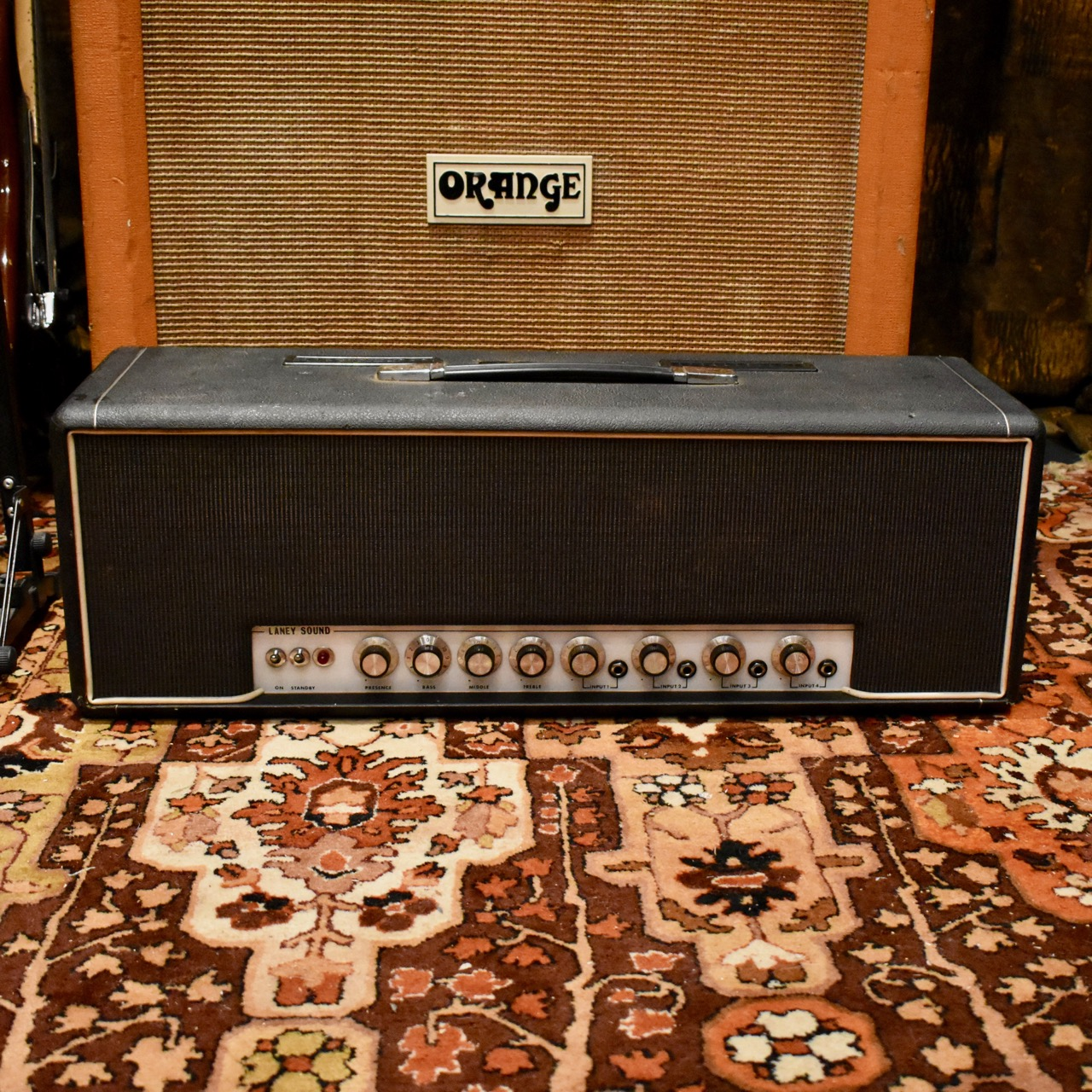 Vintage 1970 Laney Supergroup Series MK1 100w Valve Amplifier