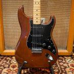Vintage 1978 Fender Mocha Brown Large Headstock Stratocaster