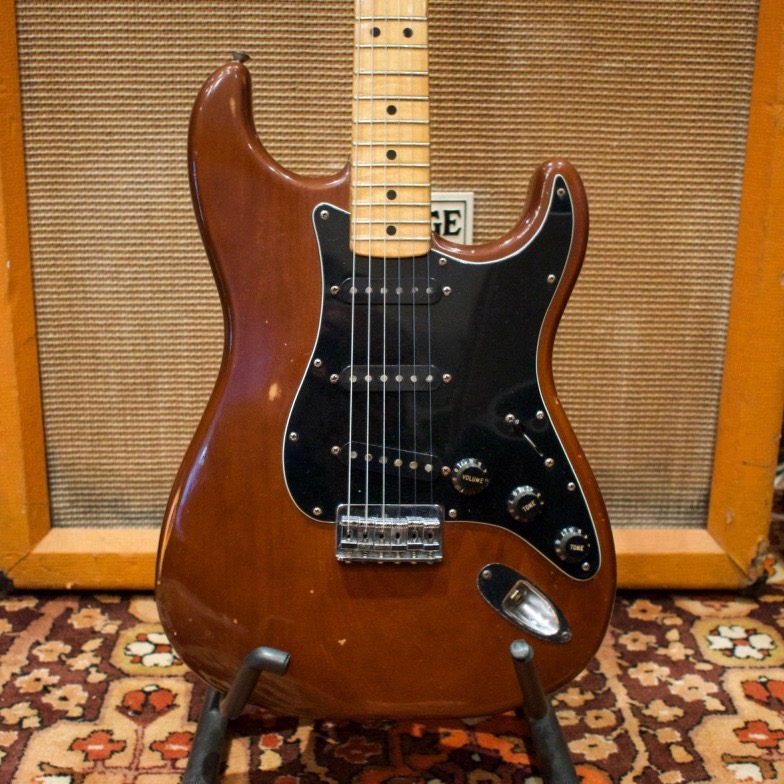 Vintage 1978 Fender USA Mocha Brown Maple Stratocaster Guitar