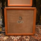 Vintage 1972 Orange 4x12 Cabinet with Celestion Greenbacks
