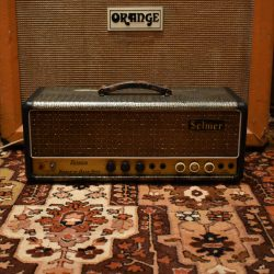 Vintage 1964 Selmer Treble N Bass Fifty Amplifier Head