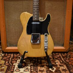 Vintage 1970 Fender USA Telecaster Natural Light 6.4lbs Guitar