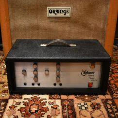 Vintage 1970s Selmer Treble N Bass 50 RS.V. Valve Amplifier