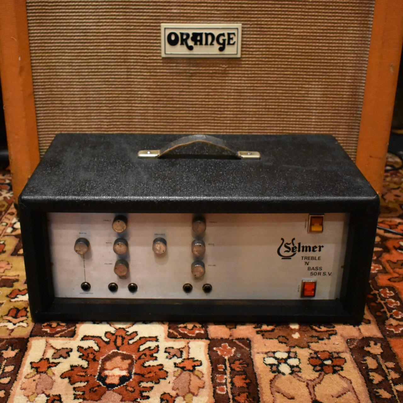 Vintage 1970s Selmer Treble N Bass 50 RS.V. Valve Amplifier
