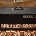 Vintage 1970s Sound City 200 Plus L200 Valve Amp Head