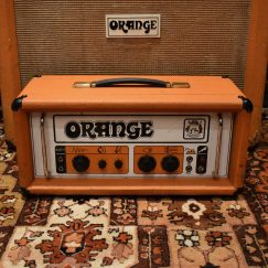 Vintage 1970s Orange OR120 Pics Only Graphic Head Amplifier