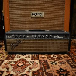 Vintage 1966 Fender Bandmaster Blackface USA Valve Amplifier Head