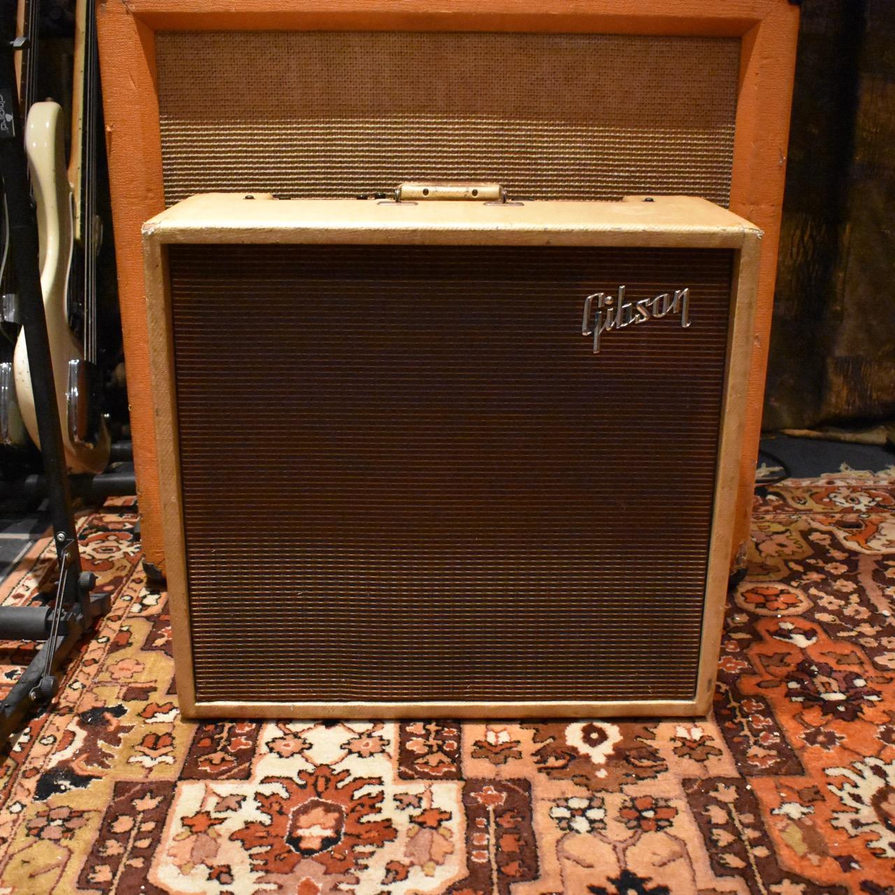 Vintage 1959 Gibson GA80T Varitone 1x15 Tweed Amplifier Combo