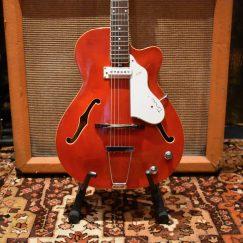 Vintage 1960s Vox Tornado Italian Guitar & Original Case