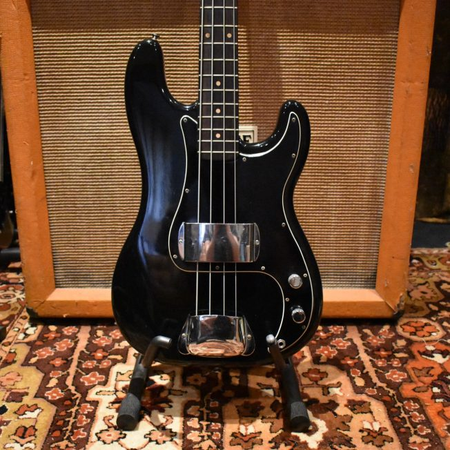 Vintage 1962 Fender Precision Bass Black Refinish Pre-CBS