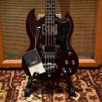 Vintage 1967 Gibson EB0 Cherry Bass John Birch Original Case
