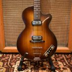 Vintage 1960 Hofner Club 50 Sunburst Guitar & Original Case