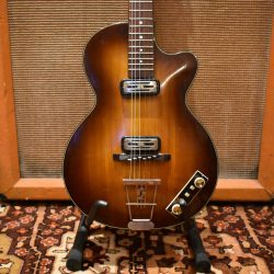 Vintage 1960 Hofner Club 50 Sunburst Guitar inc Original Case