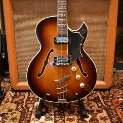 Vintage 1965 Hofner President Florentine Single Cutaway Guitar & Case