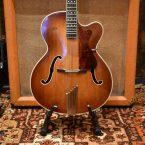 Vintage 1960 Hofner President Brunette Hollow Guitar & Hard Case