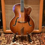 Vintage 1960 Hofner President Brunette Hollow Guitar inc Hard Case
