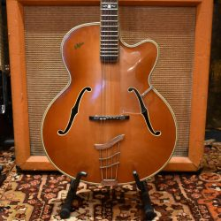 Vintage 1958 Hofner Committee Birds Eye Maple Guitar inc Case