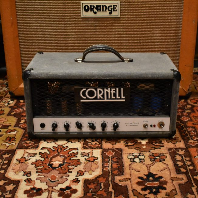 Vintage 1993 Denis Cornell 80w Custom Built Bass Amplifier