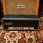 Vintage 1969 Laney Supergroup 70w White Panel Amplifier
