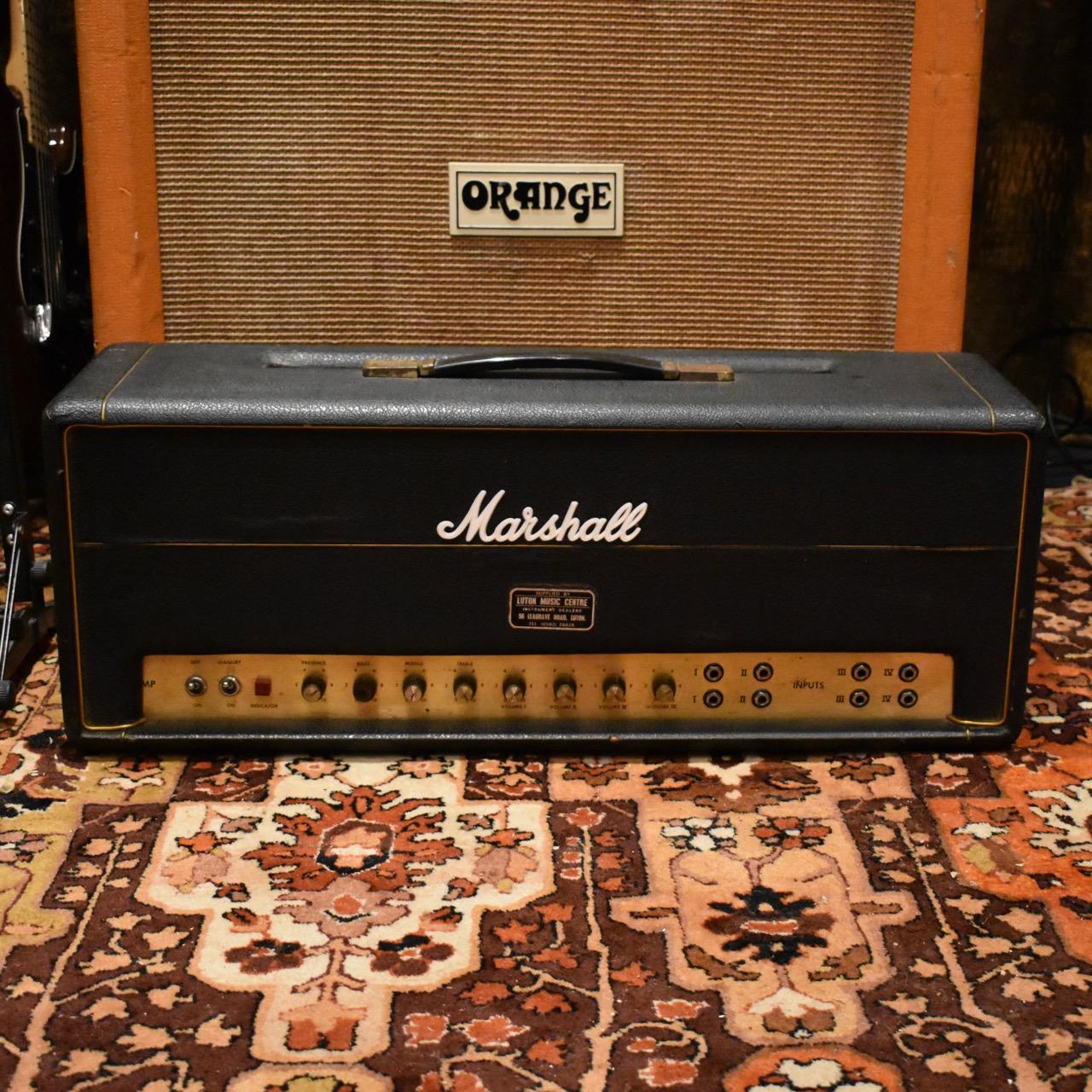 Vintage 1969 Marshall JMP Super PA 100 Amplifier Head