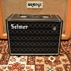 Vintage 1966 Selmer Corvette 6w Black Blue Valve Amplifier