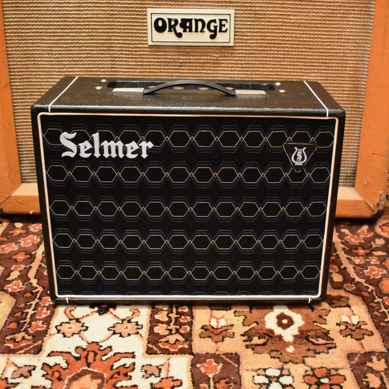 Vintage 1966 Selmer Corvette 6w Black Blue Valve Amplifier