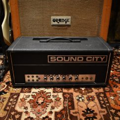 Vintage 1972 Sound City 120 B120 Valve Amplifier
