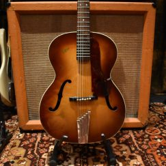 Vintage 1957 Hofner Congress Brunette Acoustic Guitar