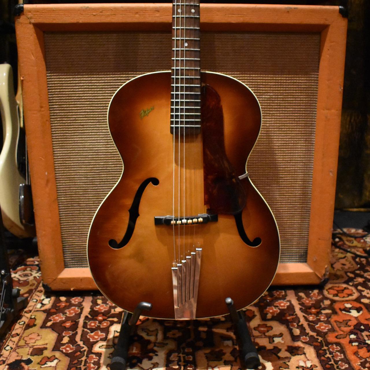 Vintage 1957 Hofner Congress Brunette Acoustic Guitar