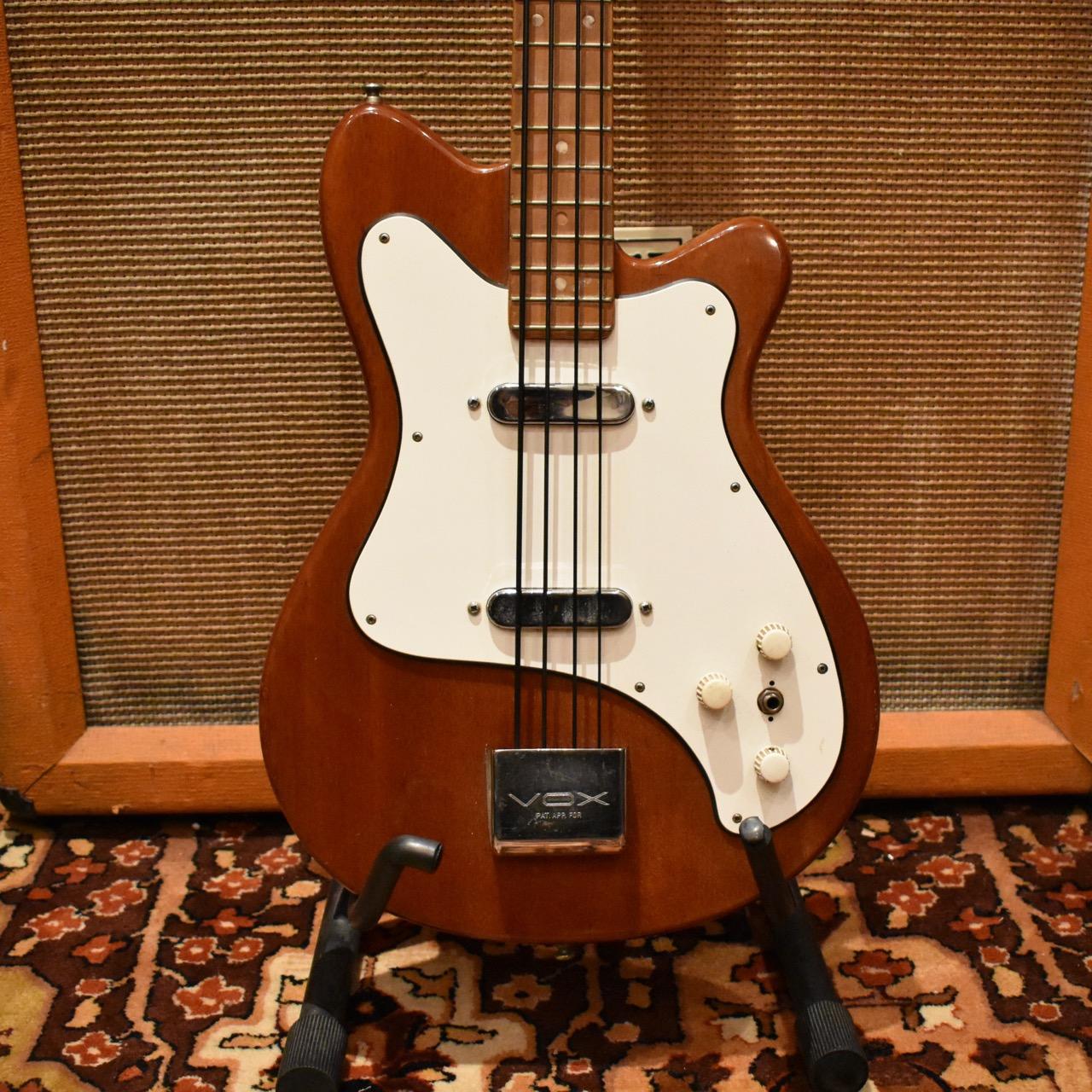 Vintage 1965 Vox Clubman Brown Electric Bass Guitar