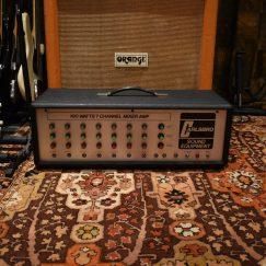 Vintage 1970s Carlsbro 100w PA Valve Amplifier Original Cover