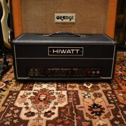 Vintage 1969 Hiwatt Custom 100 DR103 Valve Amplifier Head
