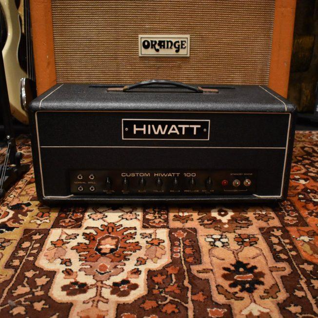 Vintage 1969 Hiwatt Custom 100 DR103 Valve Amplifier Head