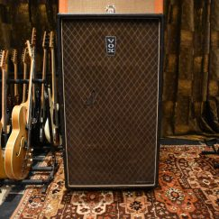 Vintage 1970s Vox Super Twin Foundation Bass 2x18 Cabinet