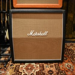 Vintage 1968 Marshall JMP 4x12 Basketweave Greenbacks Cabinet