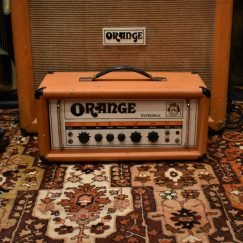 Vintage 1974 Orange OR120 Overdrive Amplifier Head