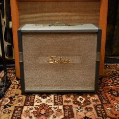 Vintage 1960s Selmer Rotary Selector Tone Truvoice Grey Blue Amplifier