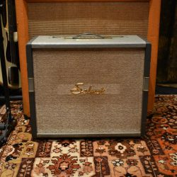 Vintage 1960s Selmer Rotary Selectortone Truvoice Grey Blue Amplifier