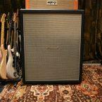 Vintage 1968 Marshall 4x12 Tall Bottom Hendrix Side Handles Cabinet