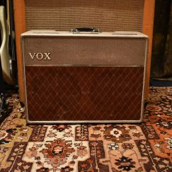 Vintage 1962 Vox AC10 Twin 2x10 Fawn Beige Amp Amplifier
