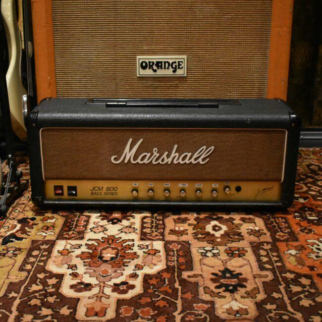 Vintage 1985 Marshall JCM 800 Bass Series 100w Amplifier