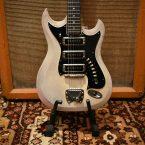 Vintage 1960s Hagstrom III F300 Original Swedish Solid Electric Guitar