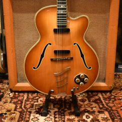 Vintage 1957 Hofner Committee Archtop Hollow Guitar Original Case