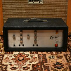 Vintage 1970s Selmer Treble N Bass 50 Amplifier
